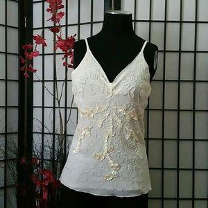 Women's white camisole